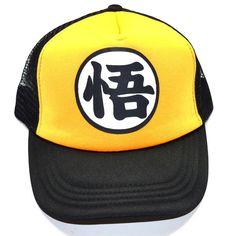 Dragonball Z Black/Yellow Snapback Baseball Anime Hat - OtakuForest.com