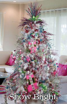 Melrose Designer Christmas Tree 2013: Snow Bright