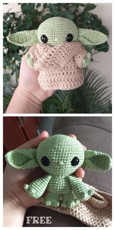 Baby Yoda Amigurumi Free Crochet Pattern Related Awesome Crochet Amigurumi For You Kids for 2019 - Page 21 of 44 - Free Amigurumi Pattern, Amiguru. Cute Crochet, Crochet Crafts, Crochet Baby, Knit Crochet, Crotchet, Crochet Teddy, Batman Amigurumi, Amigurumi Doll, Crochet Patterns Amigurumi