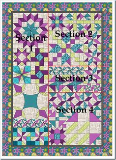 Decipher Your Quilt - Putting different sized blocks together