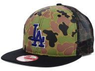 got it..Los Angeles Dodgers New Era WoodlandCamo/Black New Era MLB Camo Face Mesh 9FIFTY Snapback and other favorite teams 50% off many hats with code 50SALE