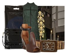 """""""Untitled #10305"""" by pocahaunted666 ❤ liked on Polyvore featuring Topshop, Valentino and Givenchy"""