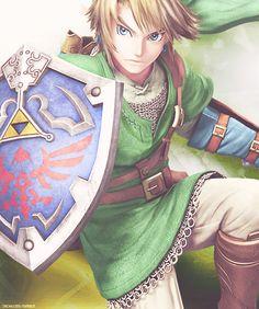 Link- Super Smash Bros. WiiU Design
