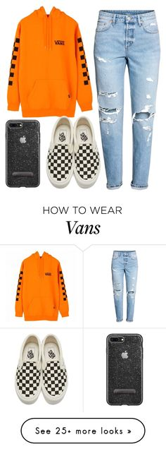 """Untitled #73"" by avelarvalentina on Polyvore featuring H&M and Vans"
