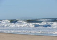 Surf's up at Nauset Beach Orleans on Cape Cod
