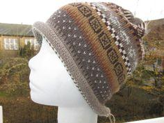 Kopfbedeckung - NovemberLaub Damenmütze Gr. M - ein Designerstück von Lotta_888 bei DaWanda