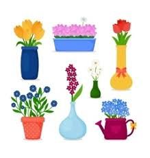 Spring flowers border clipart clipart panda free clipart images image result for spring flowers in pots images mightylinksfo