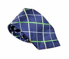 "Nautica Men's Necktie 100% Silk 4"" Wide 59"" Long Multi Colored Stripe Print Tie #Nautica #NecktieNeckTie"