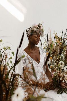 Stylish bridal inspiration with a modern bohemian twist bohemian bride, boho bride, Agnes black photography, four five studios, Manchester