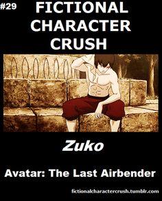 #29 - Zuko from Avatar: The Last Airbender