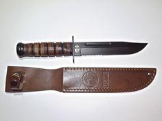 Ka Bar by Mossberg USMC Marine Military Fixed Blade Fighting Utility Knife | $39.99 @ eBay