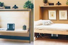 10 Murphy Beds that Maximize Small Spaces via Brit + Co