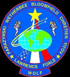 ODPO ORIGINAL AB Emblem SPACE PATCH ORBITAL DEBRIS PROGRAM OFFICE NASA JSC