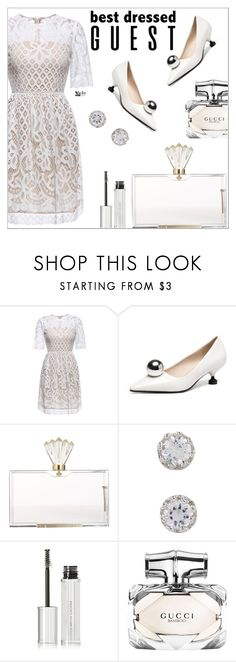 """""""Shein"""" by simona-altobelli ❤ liked on Polyvore featuring Charlotte Olympia, Givenchy and Gucci"""