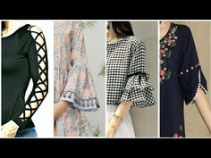 94e4022e1fb Top 50 Sleeves Designs For Kurti Kurta Frocks 2018 - Latest Style For Girls  - YouTube