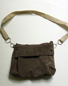 Make a purse out of a shirt sleeve!