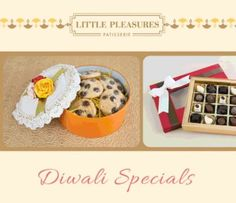 Celebrate the festival of lights with Little Pleasures! We've got a range of delicious goodies to choose from for your gifting needs. #LittlePleasuresPatisserie #Diwali #Celebrate #Festival #Occasion #Cookie #Chocolate #Tart #Corporate #Gifting #Present #Gift #Personalised #Customized #Bespoke #Hamper #InstaFOOD #Foodstagram #FoodLove #FoodPorn  Yummery - best recipes. Follow Us! #foodporn