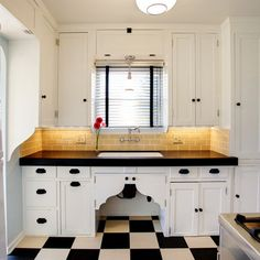 full of charm: kitchen redo. a little old with new. see kitchen as well