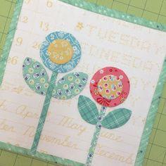 Bee In My Bonnet: BLOOM Sew Along - Week Five - Block Five!!