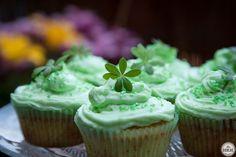 Waldmeister-Cupcakes