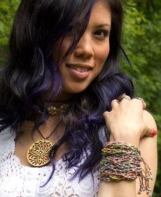Bead & Knot Bracelet   #liviniseasy @Soul Flower