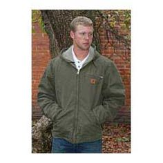 Sandstone Sierra Mens Jacket-Tall Army Green - Item # 14526