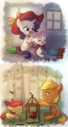 My Little Pony Cartoon, My Little Pony Drawing, My Little Pony Pictures, Human Mlp, Sweetie Belle, Mlp Pony, My Little Pony Friendship, Equestria Girls, Sisters