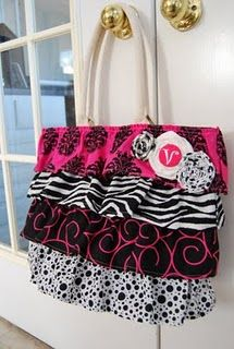 Make your own tote no pattern..takes you to a LouieVatton site