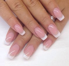 Its All about Trending Fashion Dress,Fashion Ideas,WomenFashion,MenFashion and much more. French Manicure Acrylic Nails, French Tip Nails, Cute Acrylic Nails, Nail Manicure, Cute Nails, Pretty Nails, Stiletto Nails, Perfect Nails, Gorgeous Nails