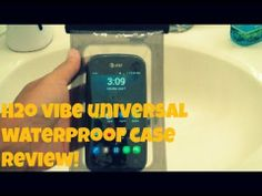 H2O Vibe Universal Waterproof Case Review!
