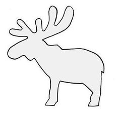 camp moose on the loose coloring pages | How to Draw a Moose in 5 Steps | Moose, Antlers and Church ...
