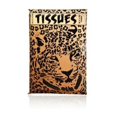 These gorgeous leopard print tissues are the ultimate bag accessory! It's always useful to pop a packet in your bag just in case, but the packaging is so gorgeous that it will look really cute inside your bag too.