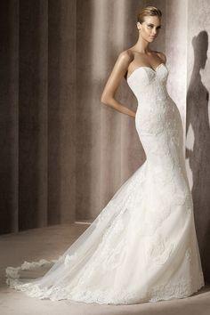 Pronovias Hochzeitskleid Balear | evet ich will - das türkische Hochzeitsportal