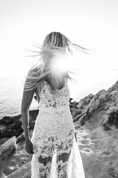Sexy lace Yolan Cris wedding dress   Image by Kreativ Wedding
