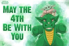 Created a cross-over of and for May the this year; Laeka'Draeon meets the adorable Child (aka Bady Yoda). Anyone is welcome to share this on all future May dates. May the Force, and dragons, be with you all! Starwars, Dates, Dragons, Adventure, Future, Children, Character, Young Children, Future Tense