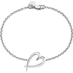 Shaun Leane Signature heart sterling silver bracelet ($170) ❤ liked on Polyvore featuring jewelry, bracelets, shaun leane jewelry, heart jewellery, engraved jewelry, heart bangle and engraved jewellery