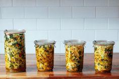 Ultimate Kimchi // napa cabbage, kale, golden beet, ginger, horseradish, granny smith, spring onion, leeks, carrots, jalapeno, turmeric