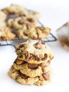 Butter-less chocolate chip cookies