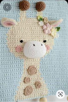 Crochet Wall Art, Crochet Wall Hangings, Giraffe Crochet, Crochet Baby, Giraffe Decor, Nursery Wall Decor, Nursery Room, Room Decor, Crochet Decoration