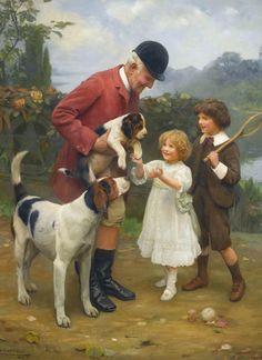 Arthur John Elsley - Sothebys, Pick of the Litter . 1908