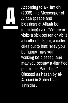 Visiting sick in Islam