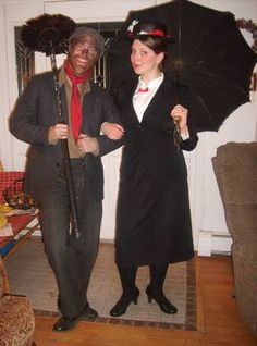 Mary Poppins and Bert the Chimney Sweep Costumes - OCCASIONS AND HOLIDAYS