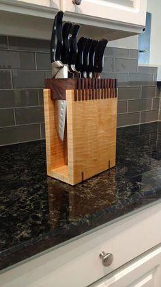 i made a knife block based on an image i saw over on r holz