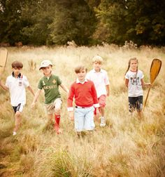 Exploring the great outdoors | Click on the image to the check out the Kids' SS12 Lookbook