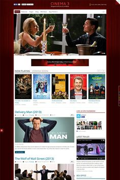 IT Cinema 3 - Everyone knows that going to the cinema it's a far different feeling than watching a movie on your living-room TV. The same is true for our February release. A colorful and vibrant Premium Joomla Theme inspired from the cinematic world. Demo here: http://demo.icetheme.com/?template=it_cinema3