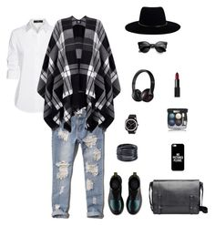 """""""9"""" by sungin-cho on Polyvore featuring Abercrombie & Fitch, Zimmermann, Casetify, ABS by Allen Schwartz, Chanel, Steffen Schraut, Lipsy, NARS Cosmetics, Briston and Beats by Dr. Dre"""