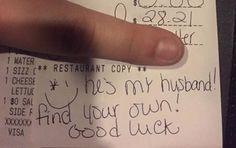 receipt with zero tip