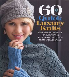 60 quick luxury knits Ruffled short rows capelet