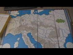 The Guns of August. Board Game. Part 1 of 2. - YouTube