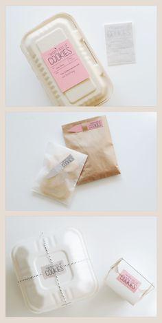 Cookies packaging.